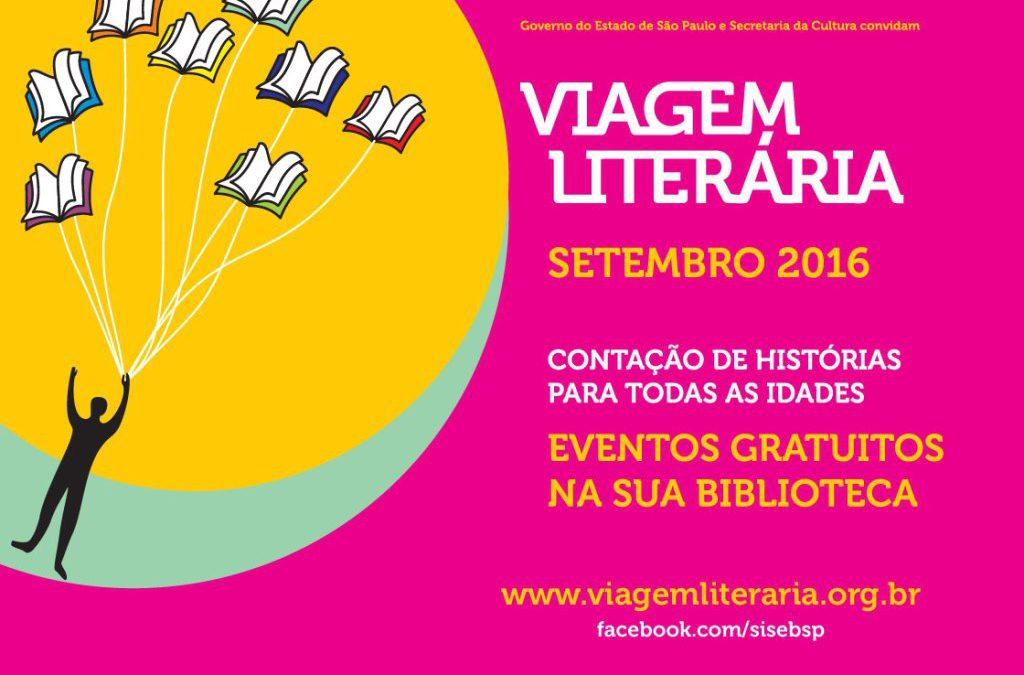Viagem Literária divulga a programação cultural deste ano