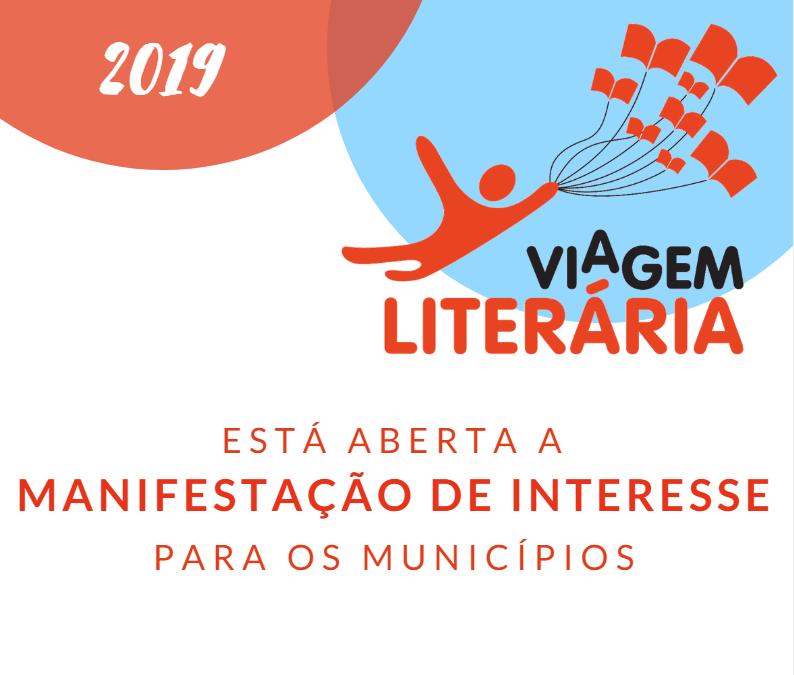 Viagem Literária – Seleção de cidades para 2019