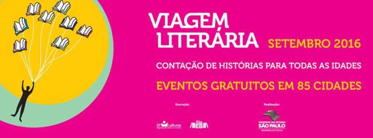 Viagem Literária  repete uma história de  sucesso!