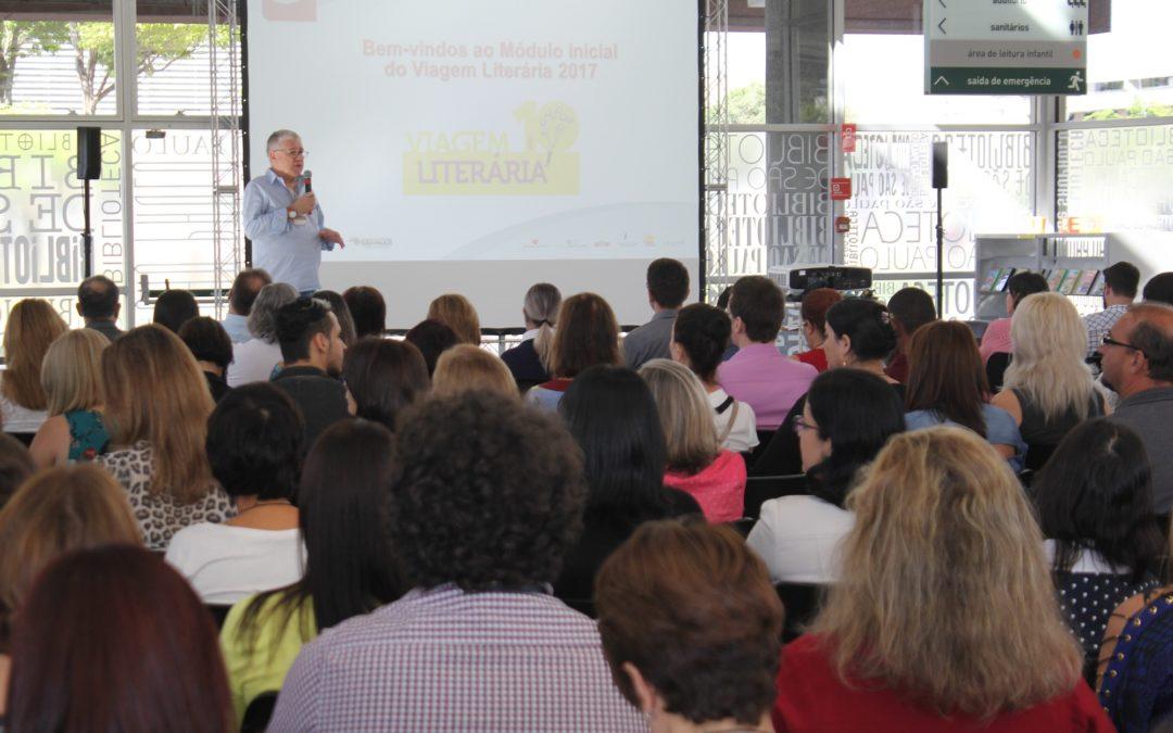 Módulo Inicial do Viagem Literária é realizado em São Paulo