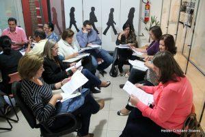 Grupo de trabalho reunido analisa as diretrizes do SisEB