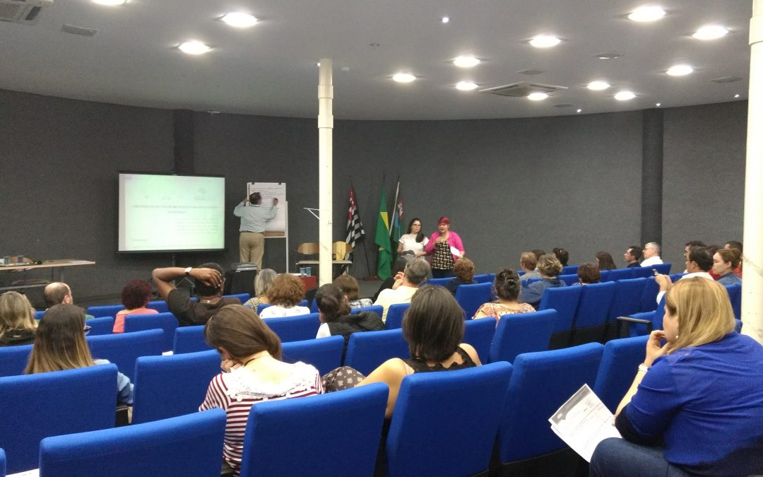 Biblioteca Prof. Nelson Foot em Jundiaí recebe o Encontro de gestores municipais e bibliotecas.