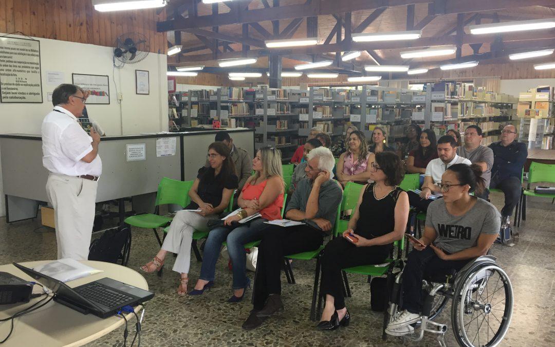 Encontro regional de gestores municipais e bibliotecas é notícia