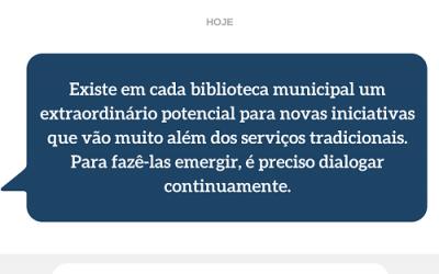Bibliotecas como polos locais de conhecimento, cultura, cidadania e lazer