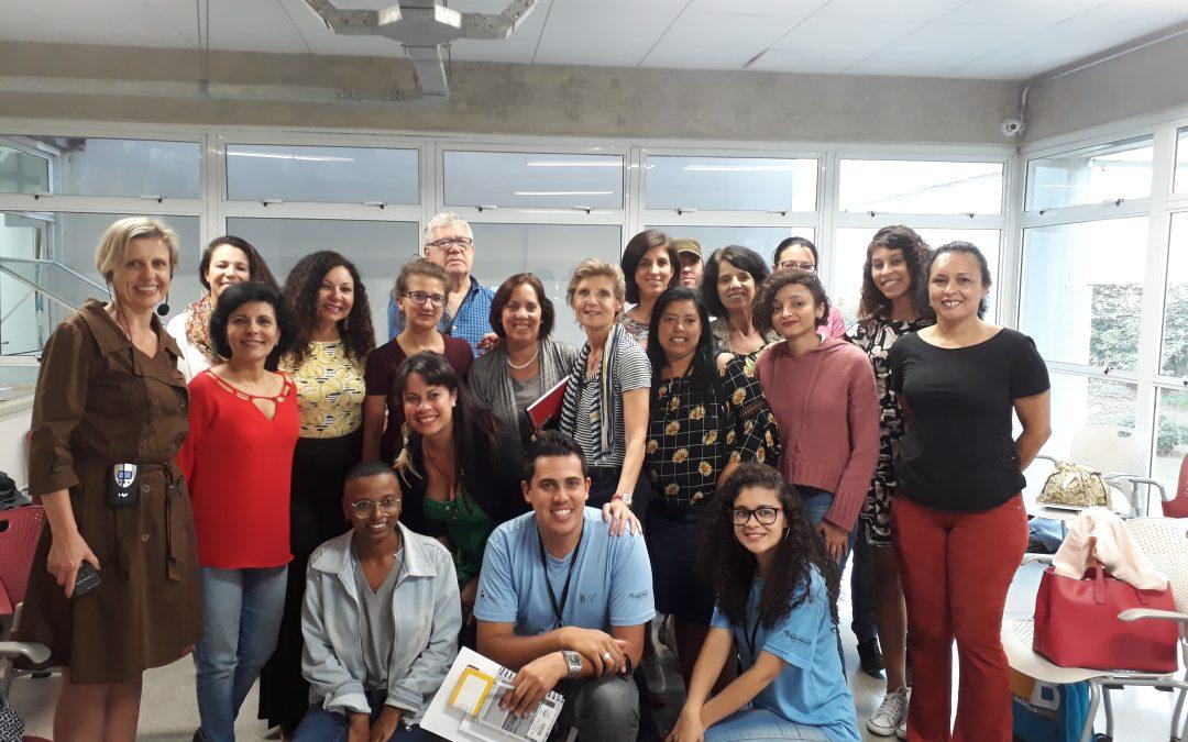 Especialista alemã compartilha know-how com brasileiros