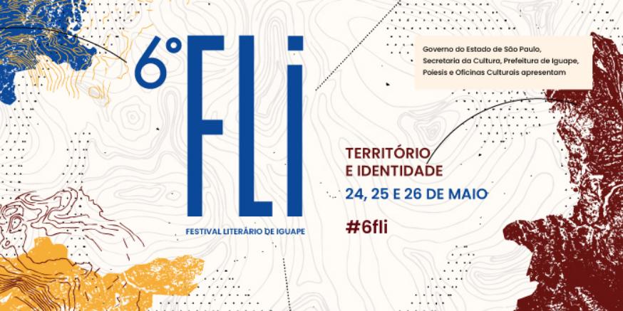 Programação do 6º Festival Literário de Iguape