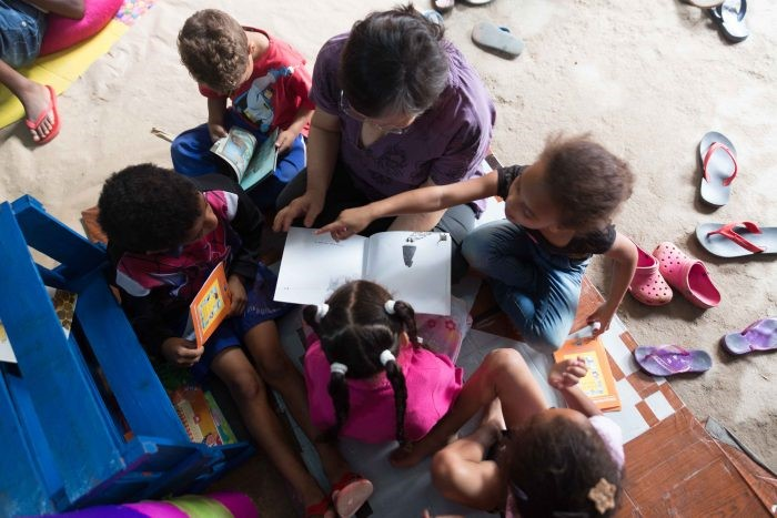 Rede de Pequenas Bibliotecas Vivas de Santo André recebe apoio financeiro internacional