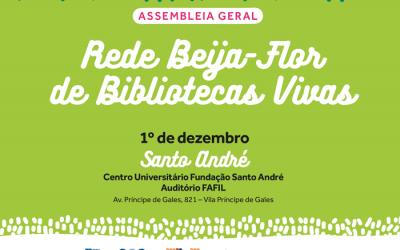 Assembleia Geral de inauguração da Rede Beija-Flor de Bibliotecas Vivas