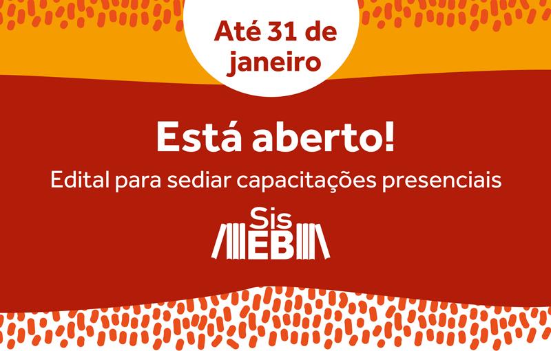 SisEB lança edital para sediar capacitações presenciais em 2019