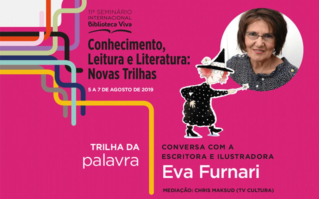 A escritora e ilustradora Eva Furnari é presença confirmada no Seminário Internacional
