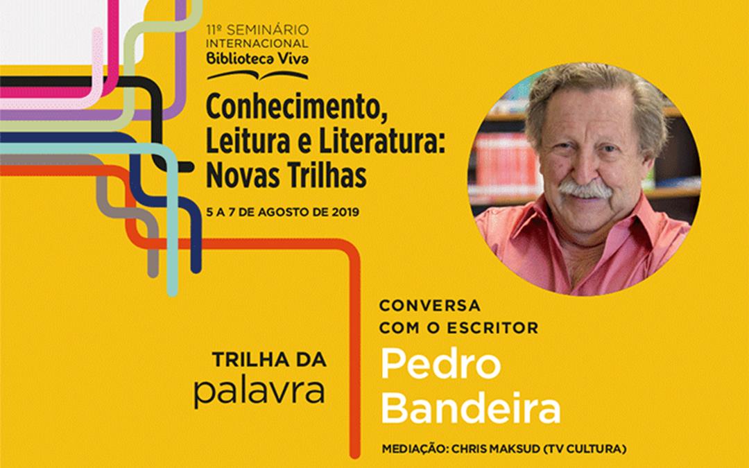 Com a palavra, o escritor Pedro Bandeira: ele conta como teceu enredos na literatura e na vida