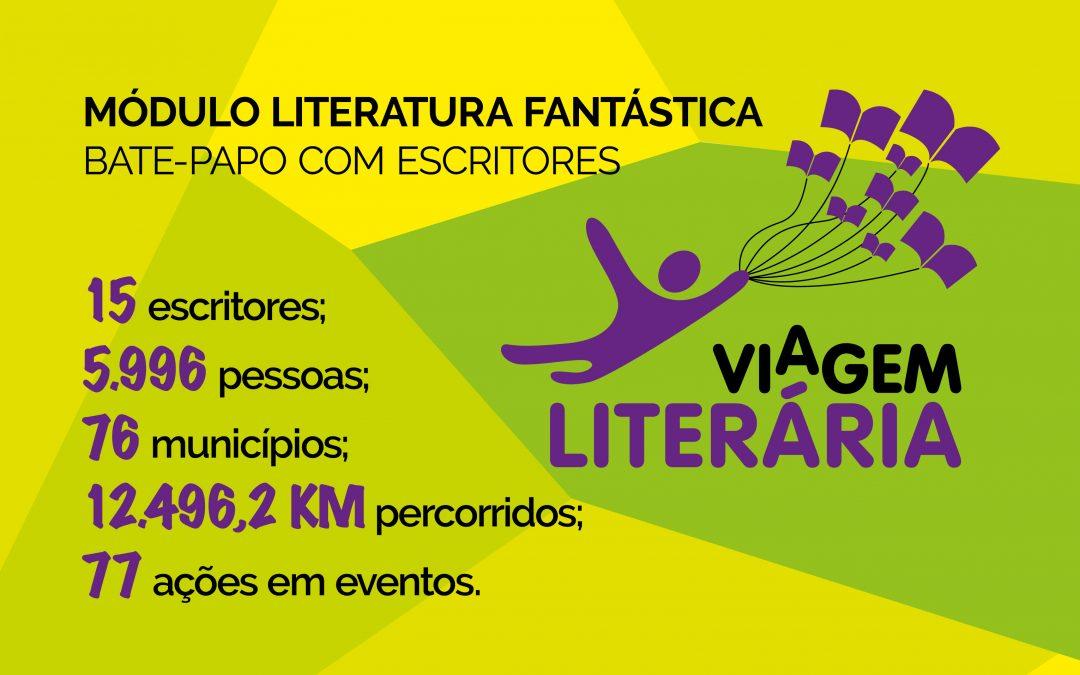 Viagem Literária: a dança das palavras, da literatura e dos encontros