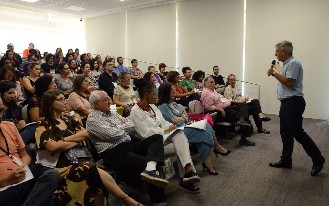 No encerramento, Workshop Internacional discute funções da biblioteca contemporânea