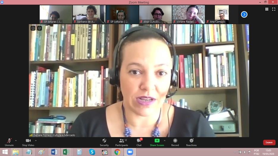 Encontro online trata do planejamento e gestão de projetos culturais