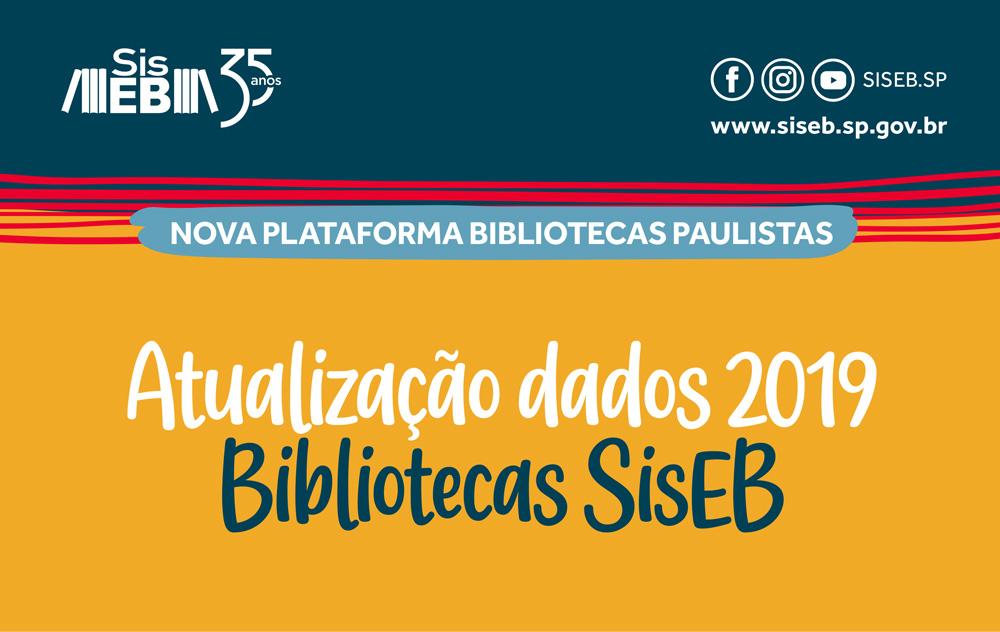 Está no ar a nova plataforma Bibliotecas Paulistas: atualize seus dados!
