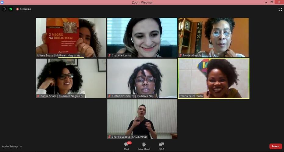 Webinar compartilha experiências para garantir inclusão de escritoras negras