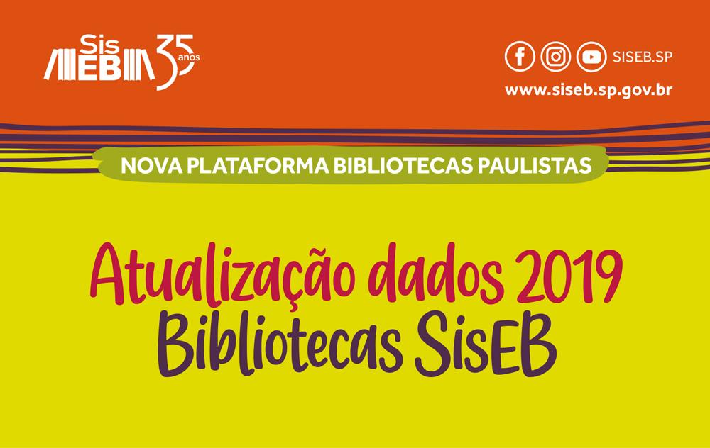 Bibliotecas localizadas no Estado de São Paulo têm novo prazo: 31 de agosto!