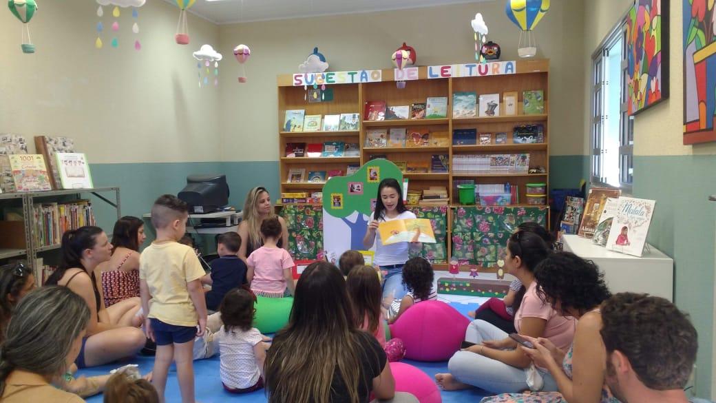 Lê no Ninho tem história de sucesso na Biblioteca Pública de Itapetininga