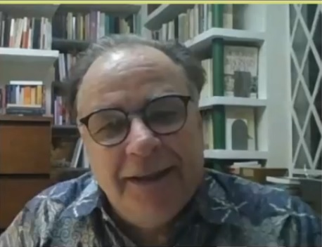 Diretor executivo da SP Leituras dá palestra na Biblioteca Nacional do Peru