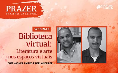 Webinar discute a importância de espaços online para o debate literário