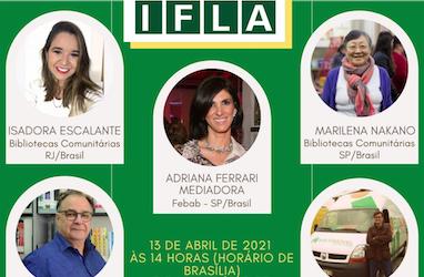 IFLA aborda desafio das bibliotecas para atender a comunidade na pandemia