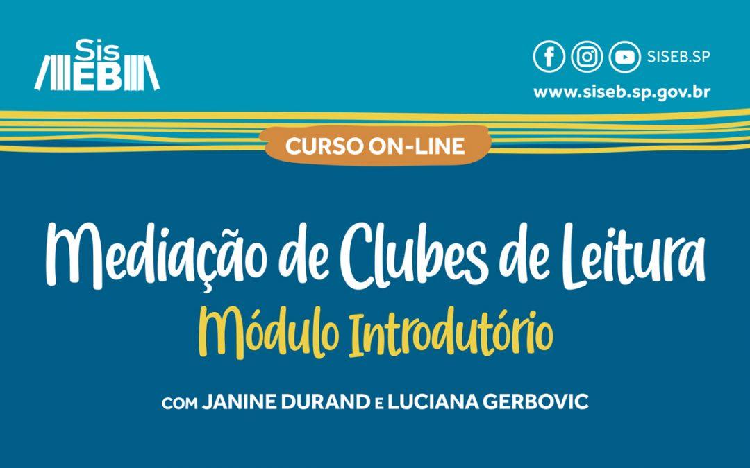 Pré-inscrições abertas para módulo de curso sobre clubes de leitura