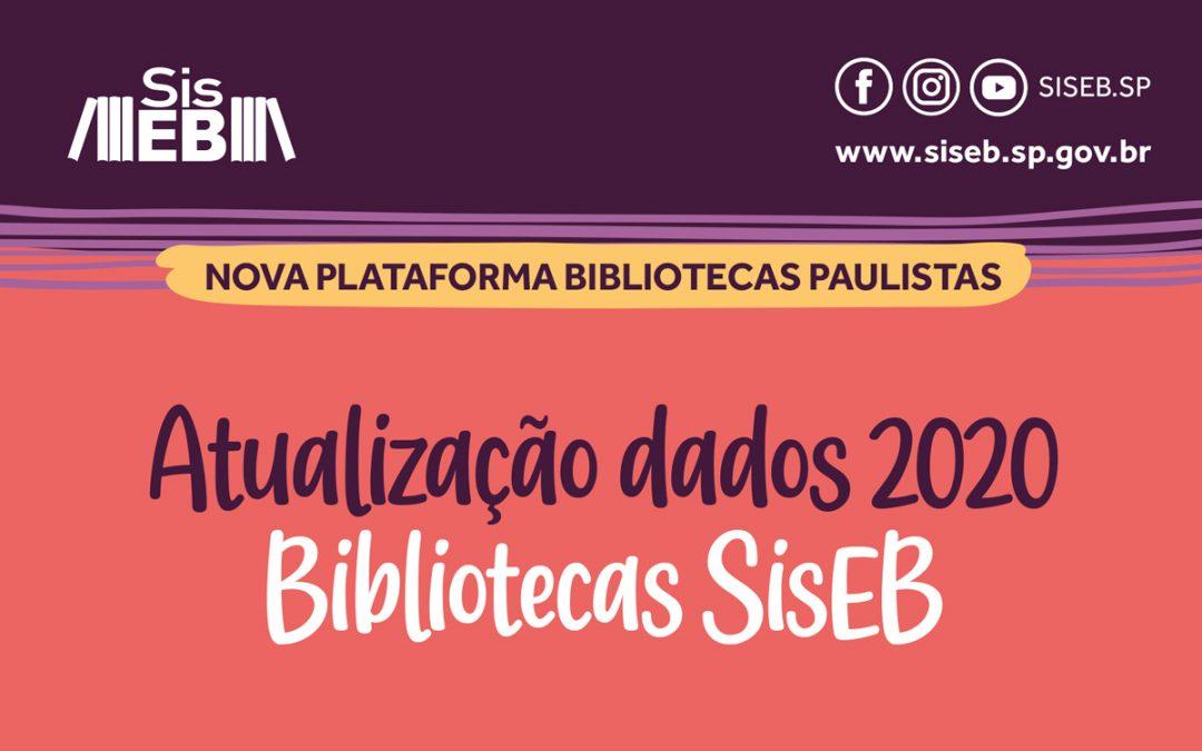 Atualização de dados na plataforma Bibliotecas Paulistas tem prazo prorrogado