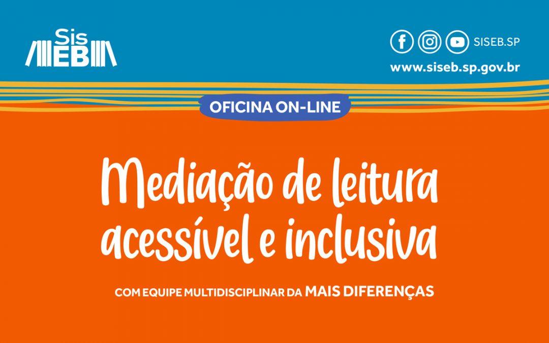 Participe de oficina sobre mediação de leitura acessível e inclusiva