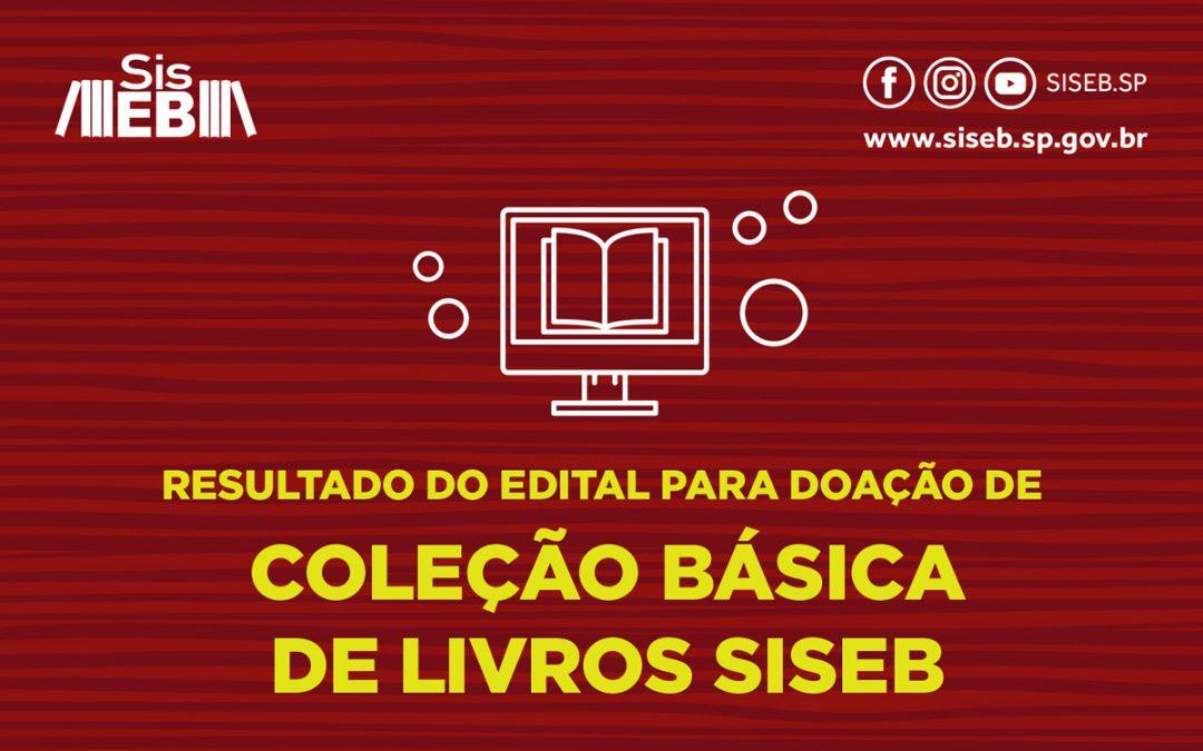 Veja as bibliotecas selecionadas no edital Doação de coleção básica de livros SisEB